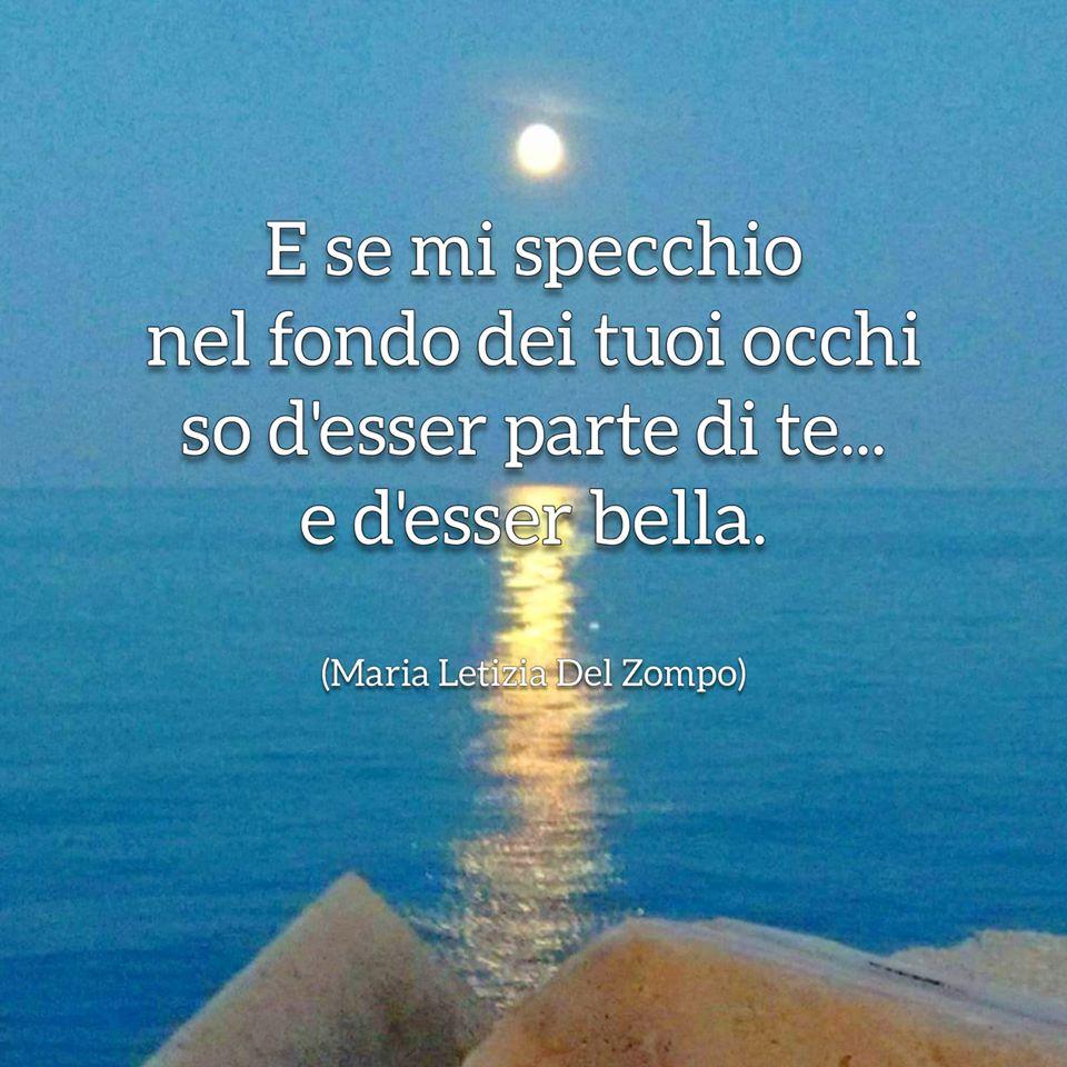 lei e l'altra - Se mi specchio - Maria Letizia Del Zompo - Poesie sul conoscere se stessi