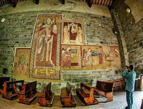 San Cristoforo e la Badia di Montepiano
