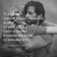Poesie amore - Foto con versi dalla poesia: Ti amo di un amore che non conosco