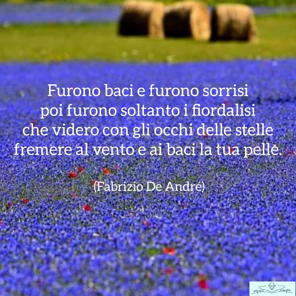 Fiori di campo - Fiordaliso - Fabrizio De André