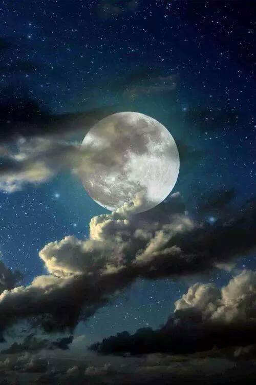 Omaggio alla luna – Poesie, frasi, citazioni, canzoni - Luna piena