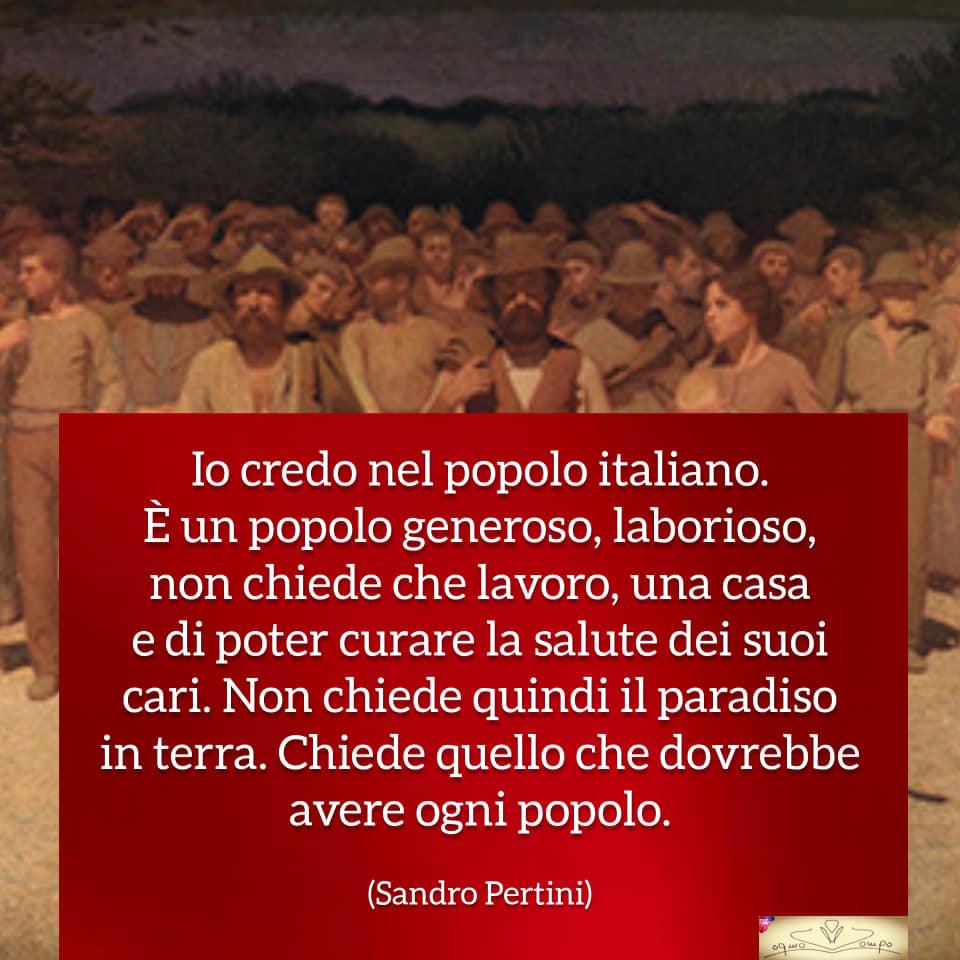 Festa dei lavoratori - Frasi - Sandro Pertini