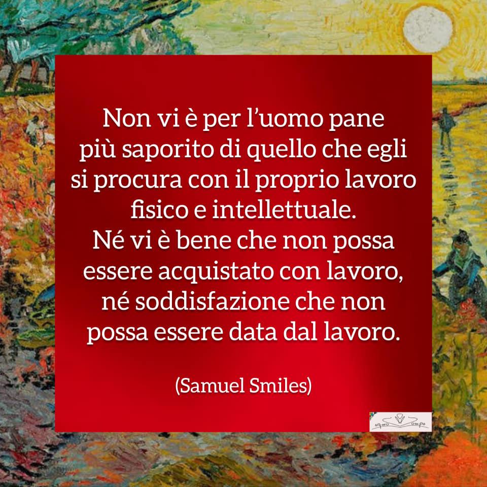 Festa dei lavoratori - Poesia - Samuel Smiles