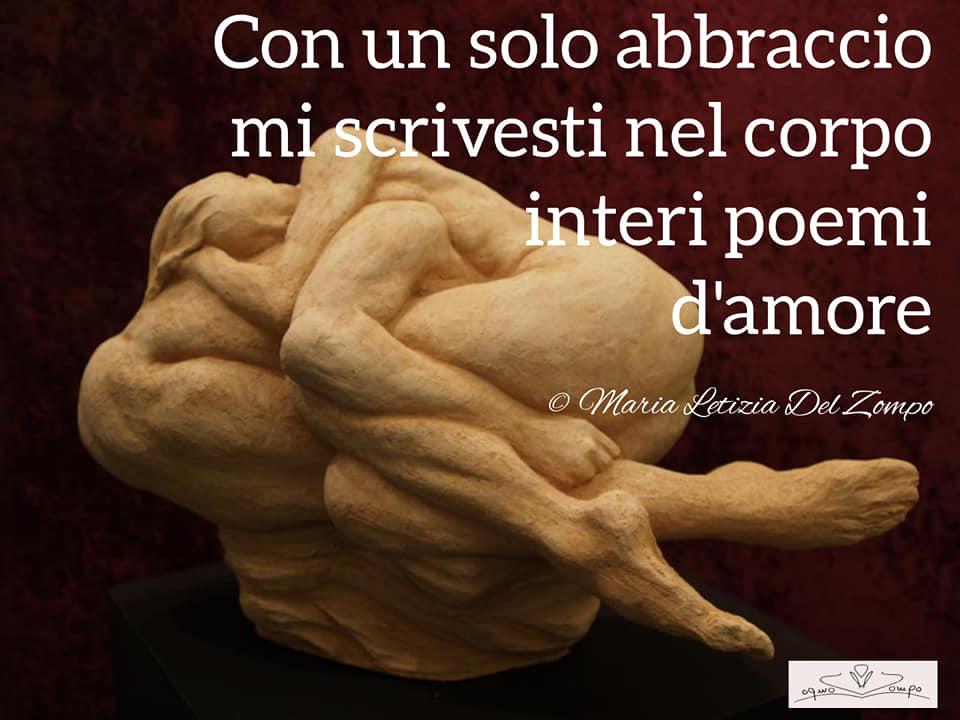 poesie d'amore - Poesie damore brevi-Con-un-solo-abbraccio-Maria-Letizia-Del-Zompo