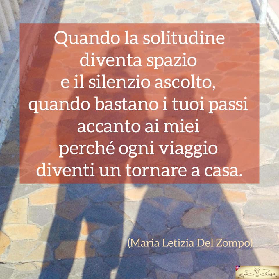 Poesie sulla gioia e la feicità - Quando la solitudine - Maria Letizia Del Zompo