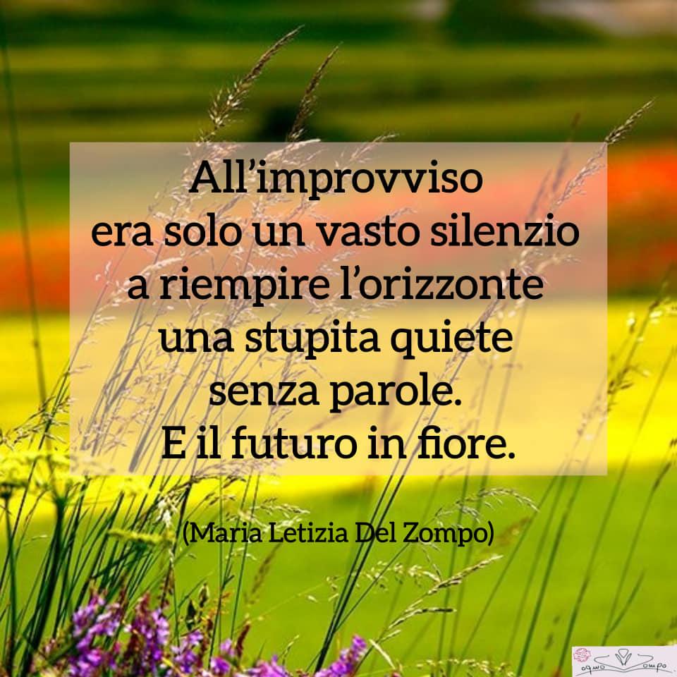 Poesie sulla gioia e la feicità - Vasto silenzio - Maria Letizia Del Zompo