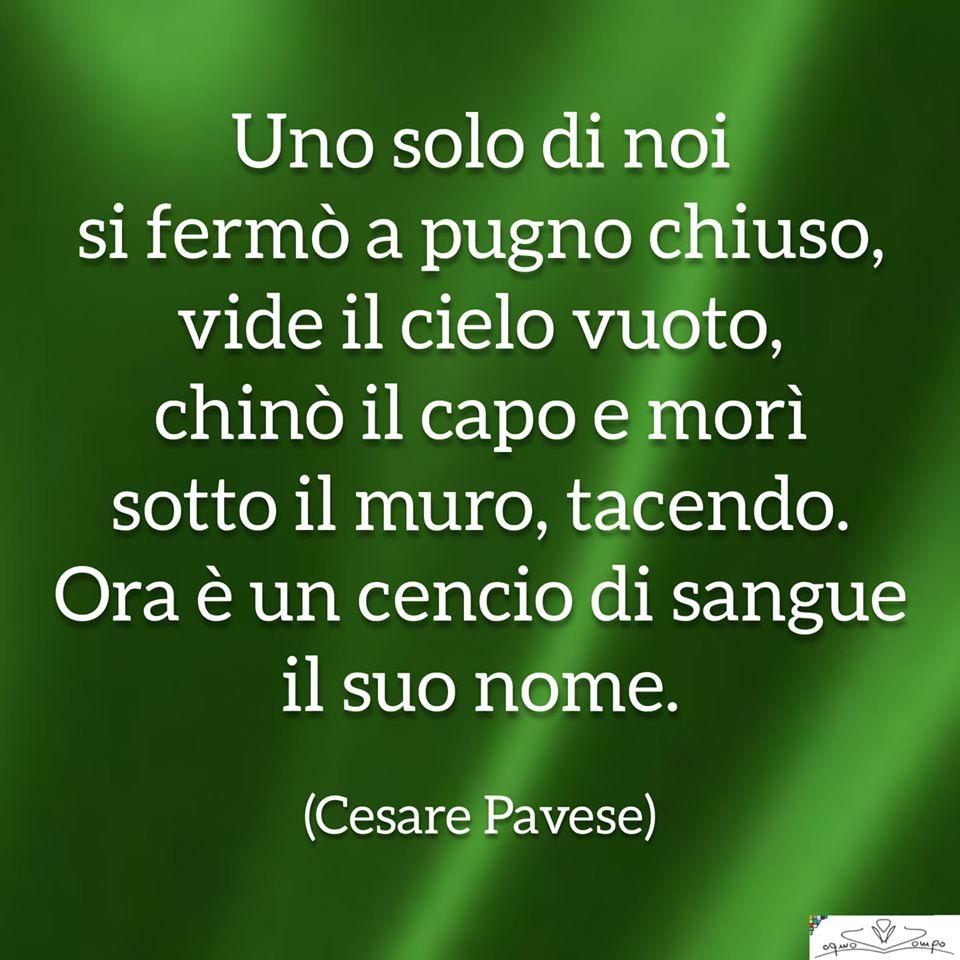 Festa della Liberazione - Poesia di Cesare Pavese