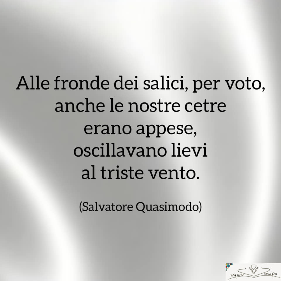 Festa della Liberazione - Poesia di Quasimodo
