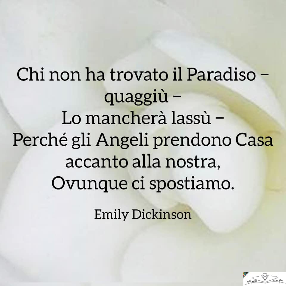 Poesie di Emily Dickinson - Chi non ha trovato il Paradiso quaggiù