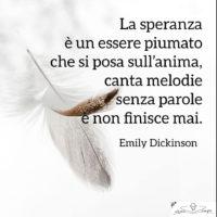 Poesie di Emily Dickinson - La speranza