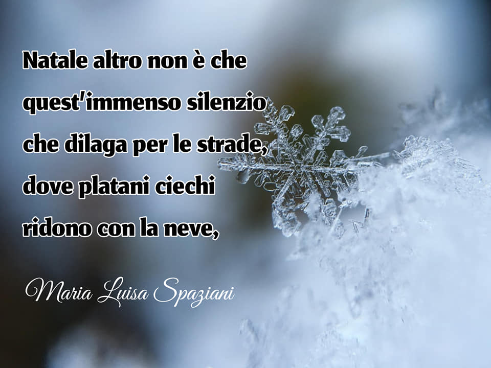 Poesie sul Natale - Maria Luisa Spaziani